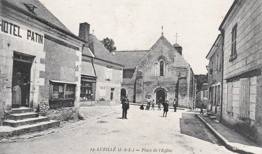 carte postale écrite en 1919