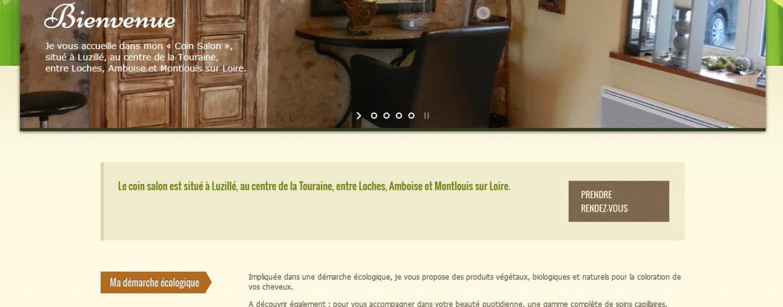 Nouveau site internet pour Le Coin Salon