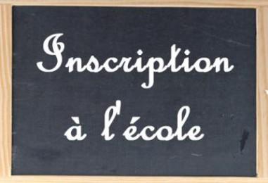 Inscription à l'école maternelle