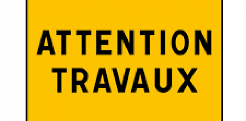 Travaux de réfection
