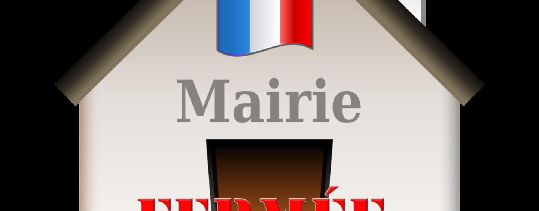 Fermeture Exceptionnelle de la Mairie le Mercredi 14 mars 2018