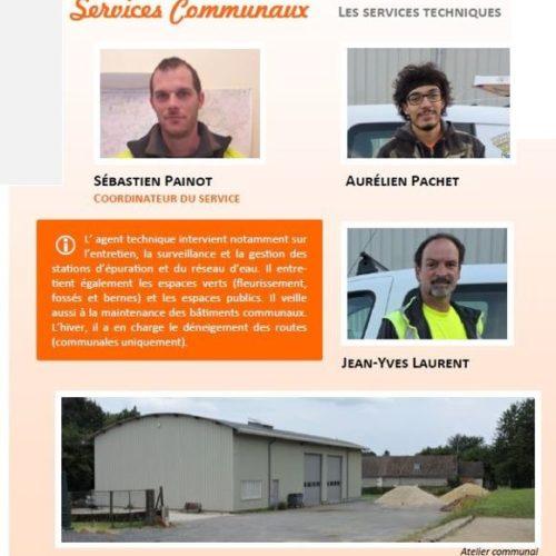 Services communaux 2018