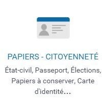 papiers et citoyenneté