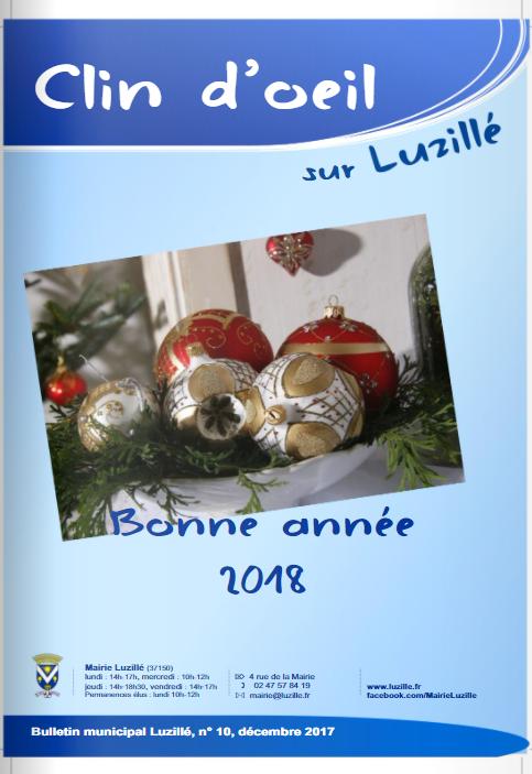 Clin d'oeil n°11, décembre 2017