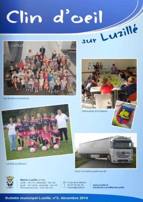 Clin d'oeil n°2, décembre 2014