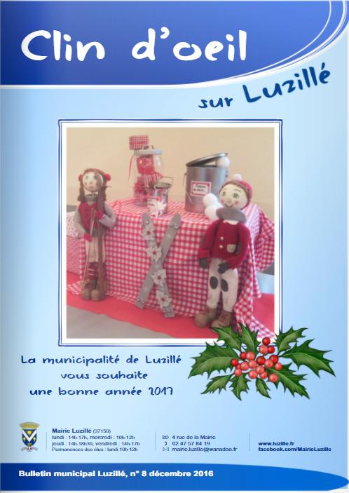 Clin d'oeil n°8, décembre 2016