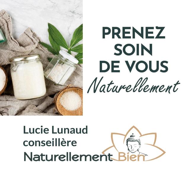 Lucie Lunaud – Conseillère Naturellement Bien