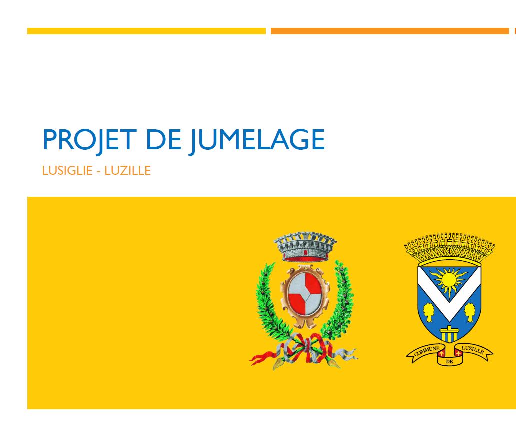Jumelage Luzillé-Lusigliè
