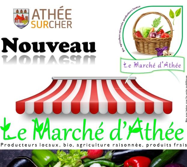 Nouveau : le Marché d'Athée-sur-Cher