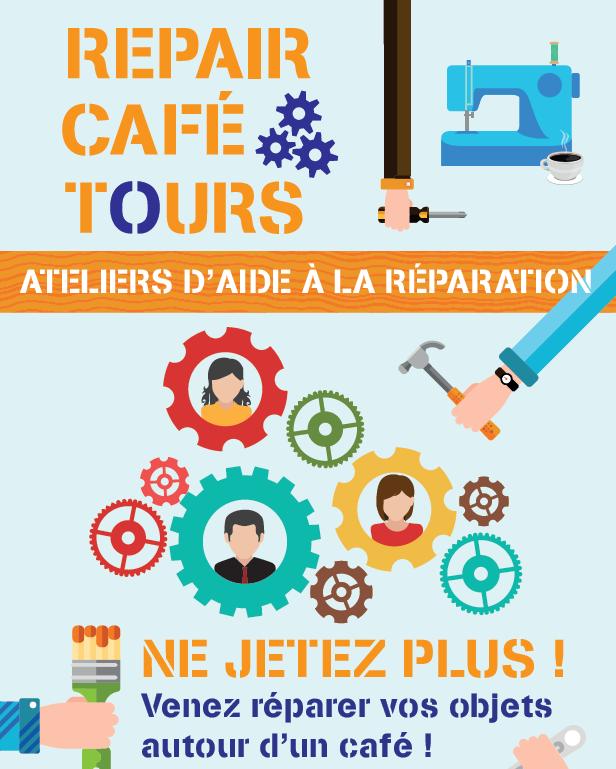 L'atelier Repair Café Tours : Ne jetez plus !